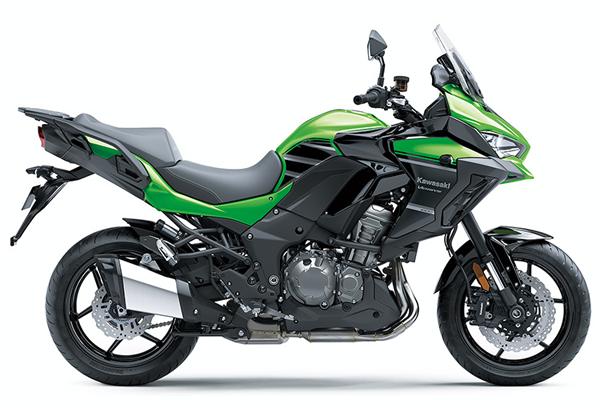 Versys 1000 2020 สีเขียว