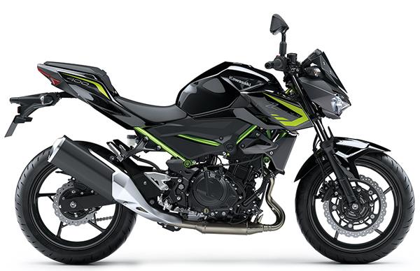 Kawasaki Z400 2020 สีเทา