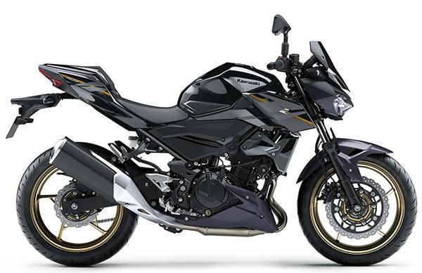 Kawasaki Z400 SE 2020 สีดำ