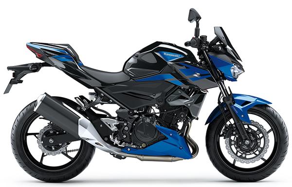 Kawasaki Z400 SE 2020 สีน้ำเงิน