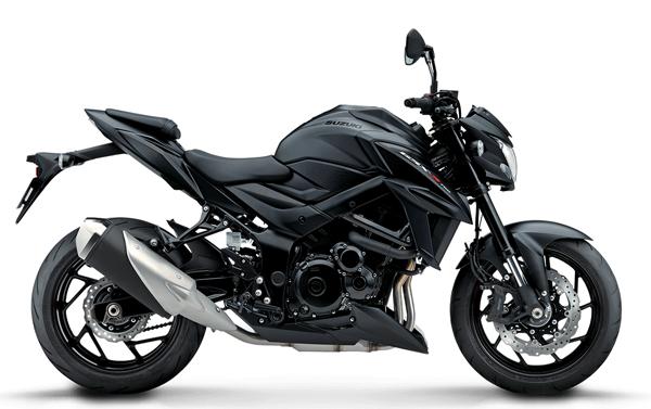 Suzuki GSX-S750 2021 สีดำ