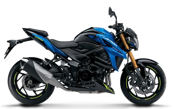 Suzuki GSX-S750 2021 สีน้ำเงิน
