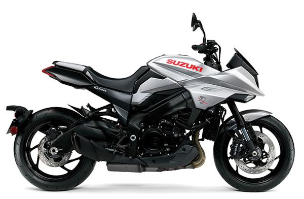Suzuki Katana 2020 สีเงิน