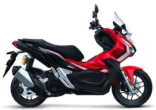 Honda ADV150 สีแดง
