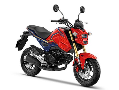 Honda MSX125SF 2020 สีแดง-น้ำเงิน