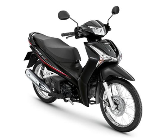 Wave125i 2020 สีดำ