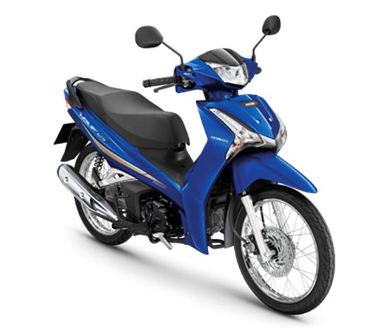 Wave125i 2020 สีน้ำเงิน