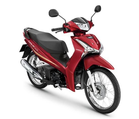 Wave125i 2020 สีแดง