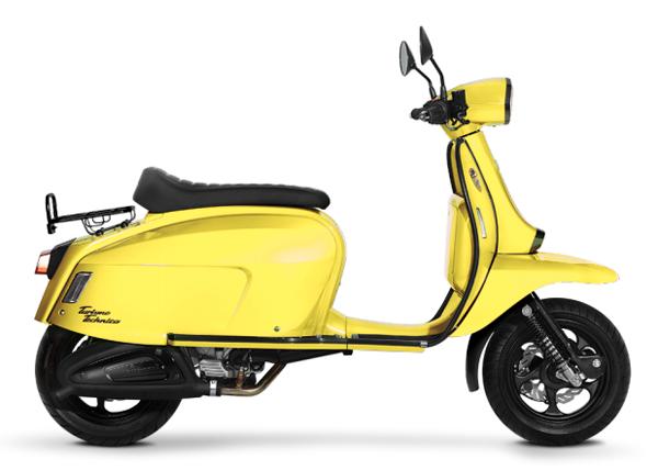 Scomadi TT200i 2019-2020 สีเหลือง