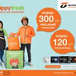 Happy Fresh, บัตรเครดิตธนชาต