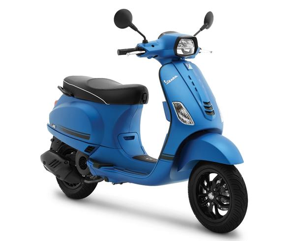 Vespa S 125 2020 สีน้ำเงิน ด้าน