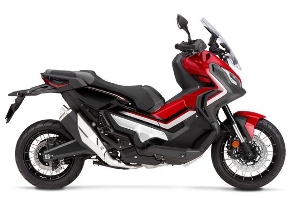 Honda X-ADV 2020 สีแดง