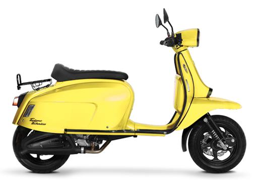 Scomadi TT125i 2019-2020 สีเหลือง