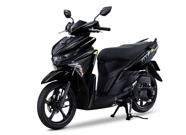GT125 2020 สีดำ