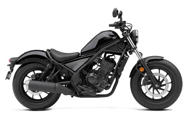 Rebel 300 2020 สีดำ