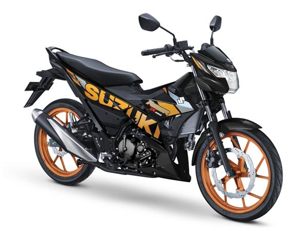 Suzuki Raider 2020 สีดำ-เหลือง