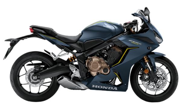 CBR650R 2020 สีน้ำเงิน
