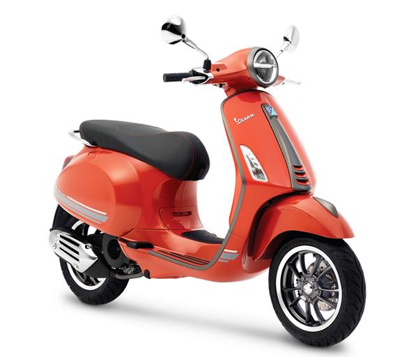 Primavera S Special Edition สีส้ม