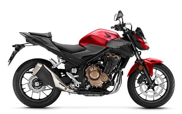 CB500F 2020 สีแดง