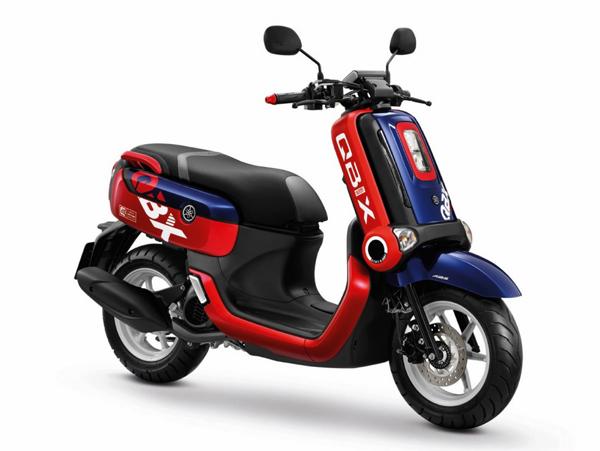QBIX 2020 รุ่น ABS สีน้ำเงิน-แดง