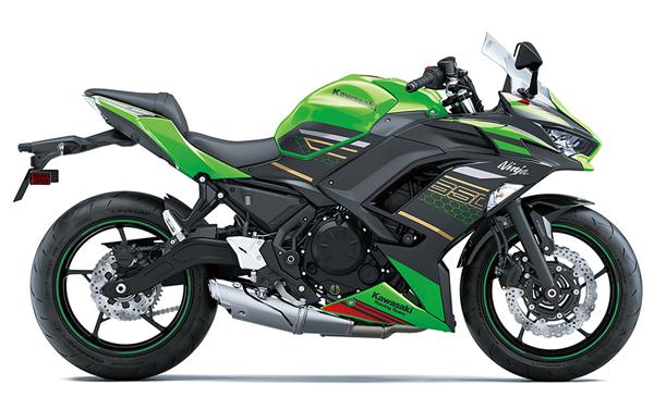 Ninja 650 KRT 2020 สีเขียว