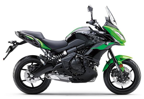 Kawasaki Versys 650 2021 สีเขียว