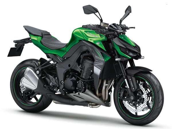 Kawasaki Z1000 2019 สีเขียว