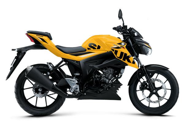 2020 Suzuki GSX-S150 สีเหลือง