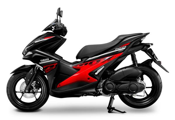 Aerox 155 2020 สีดำ-แดง