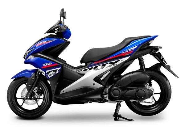 Aerox 155 2020 สีน้ำเงิน-ขาว