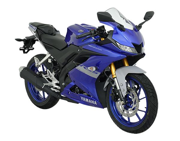 Yamaha R15 2020-2021 สีน้ำเงิน