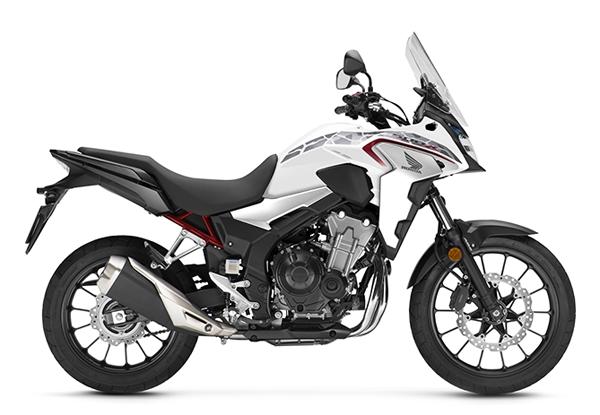 CB500X 2020 สีขาว