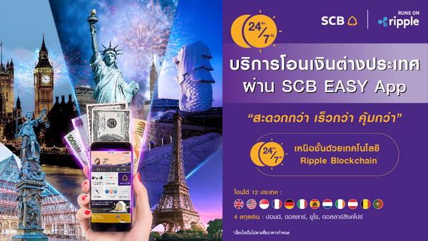 SCB Easy, โอนเงินต่างประเทศ,  Money Transfer