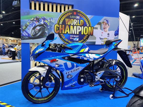 Suzuki GSX-R150 2020 World Champion Special Edition