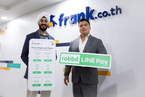 Rabbit Line Pay, Frank, ซื้อประกันออนไลน์