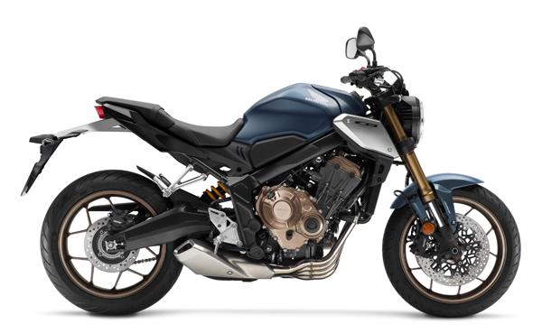 Honda CB650R 2021 สีน้ำเงิน