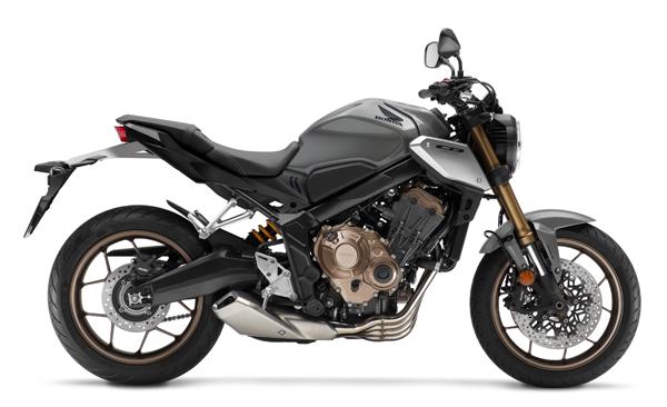 Honda CB650R 2021 สีเทา