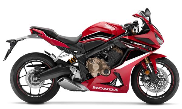 Honda CBR650R 2021 สีแดง