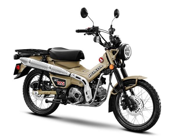 Honda CT125 2020 สีน้ำตาล