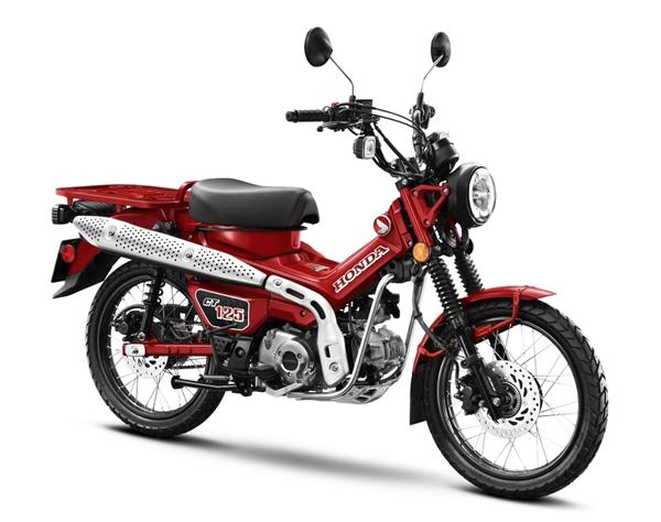 Honda CT125 2020 สีแดง