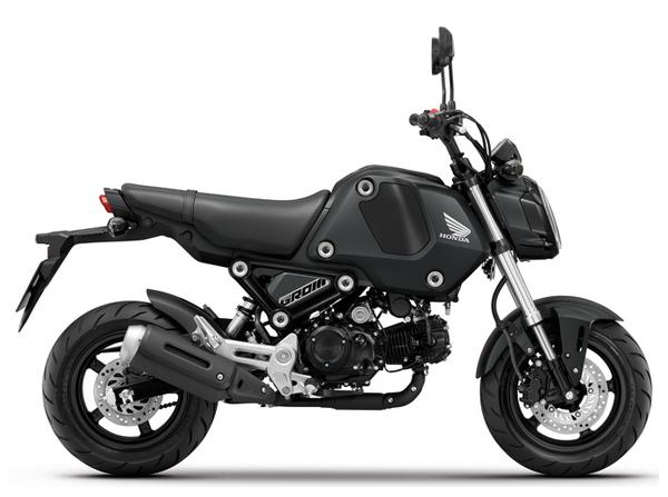 Honda GROM สีดำ