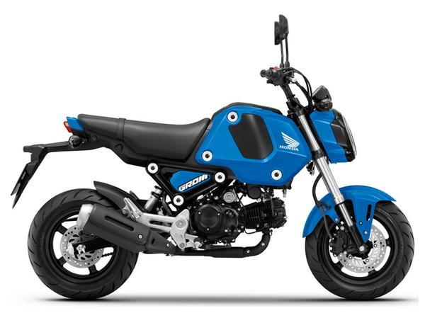 Honda GROM สีน้ำเงิน