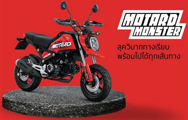 Honda GROM Motard