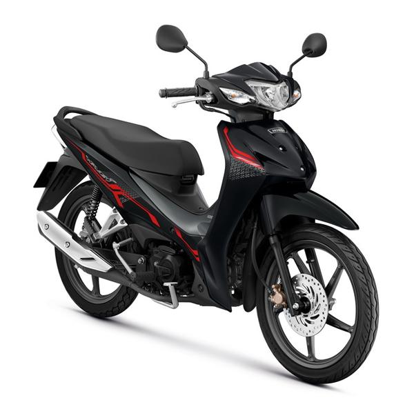 Honda Wave110i 2021 สีดำ-เทา