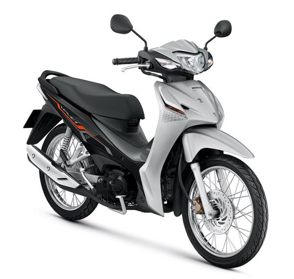 Honda Wave110i 2021 สีเทา