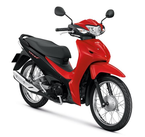 Honda Wave110i 2021 สีแดง