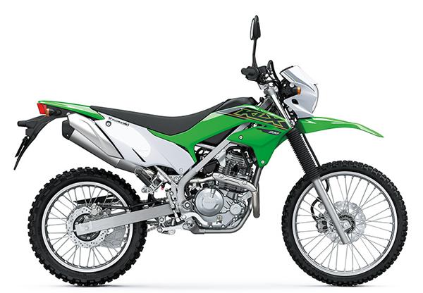 KLX230 2021 สีเขียว