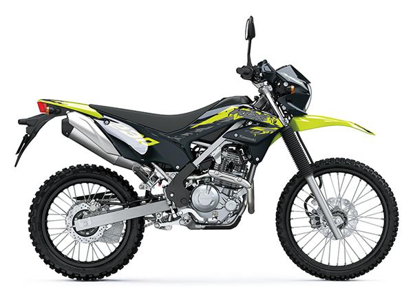 KLX230 ABS 2021 สีดำ-เหลือง