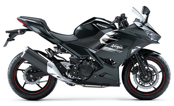 Ninja 400 2021 สีดำ