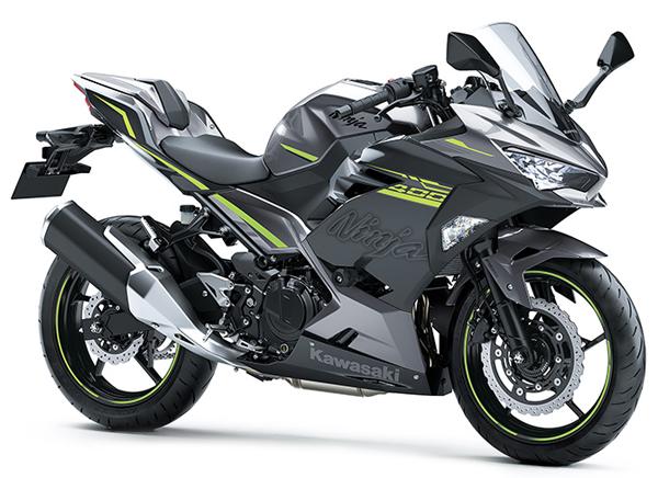 Ninja 400 2021 HG สีเทา